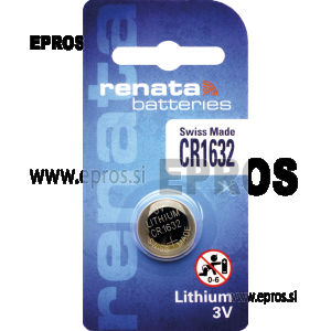 Baterija Renata CR 1632