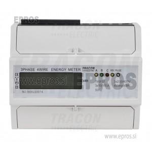 Števec trofazni, 7 modelni, LCD TVOF37