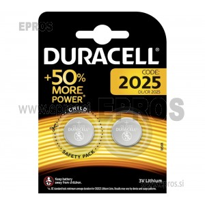 Baterija Duracell DL / CR 2025