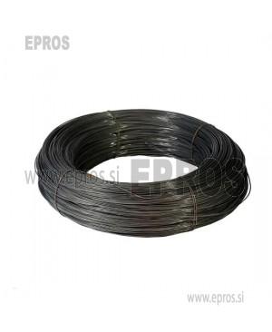 Trda žica HO7V-U 1.5 mm, črna