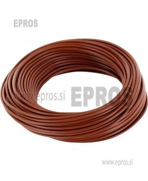 Mehka žica HO7V-K 0.75mm, rjava