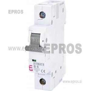 Instalacijski odklopnik - avtomatska varovalka ETIETIMAT 6 1p B6