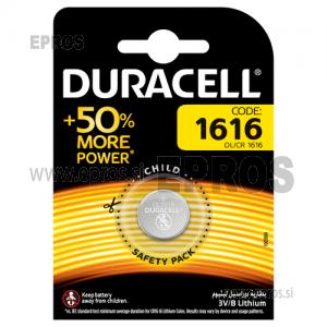 Baterija Duracell DL/CR 1616