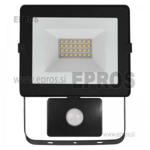 LED reflektor HOBBY SLIM s senzorjem 20W NW