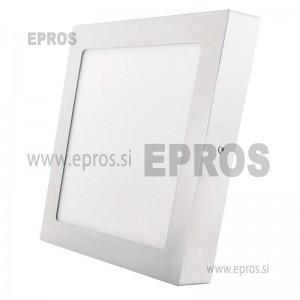 LED panel nadometni kvadratni 18W WW