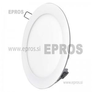 LED panel okrogel 12W WW EMOS