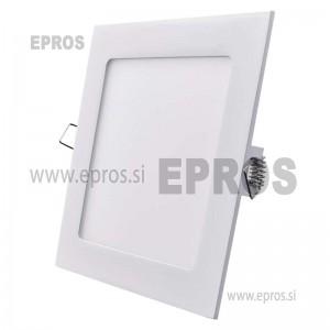 LED panel kvadratni 12W WW