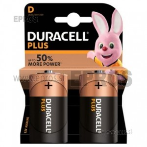 Baterija Duracell D