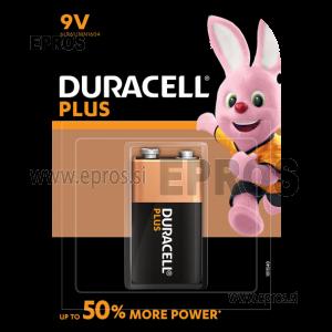 Baterija Duracell 9V