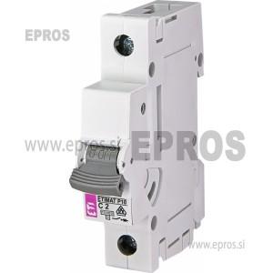 Instalacijski odklopnik - avtomatska varovalka ETI  ETIMAT P10 1p C2