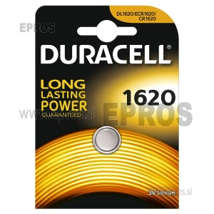 Bateija Duracell DL/CR 1620
