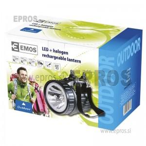 Polnilna svetilka EXPERT 3810 12 LED EMOS
