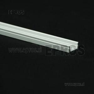 Aluminijast led profil (17x8mm) nadgradni 2m (CENA ZA 1m)