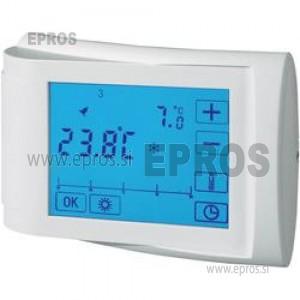 Sobni termostat, nadometni, tedenski program 5 do 35 °C CE