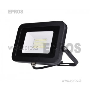 Reflektor LED 20W COMMEL črni