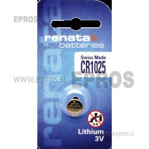 Baterija Renata CR 1025