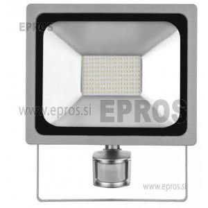 LED reflektor PROFI s senzorjem 50W NW