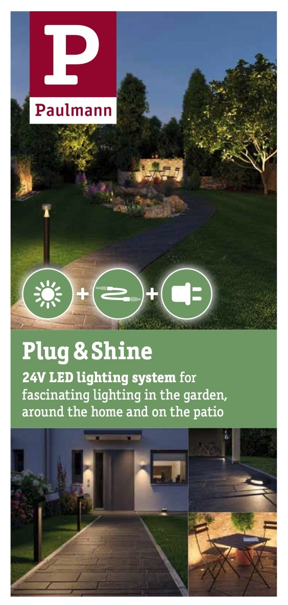 Paulmann Outdoor Lighting plug & shine