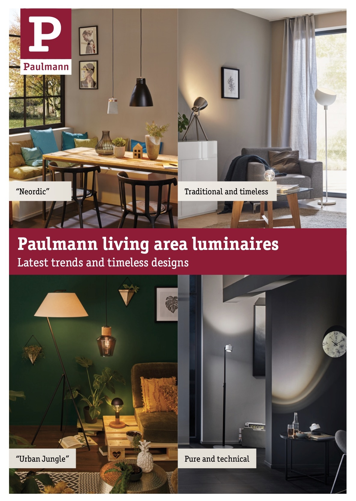 Paulmann living area luminaires
