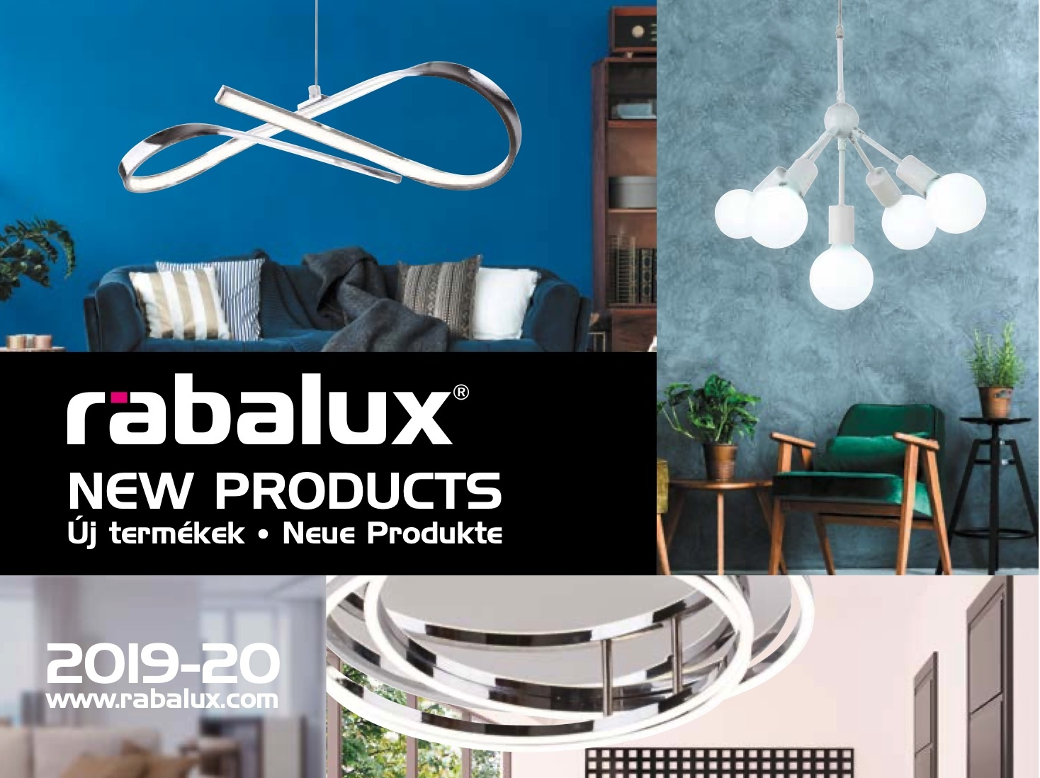 RABALUX New products broshure 2019
