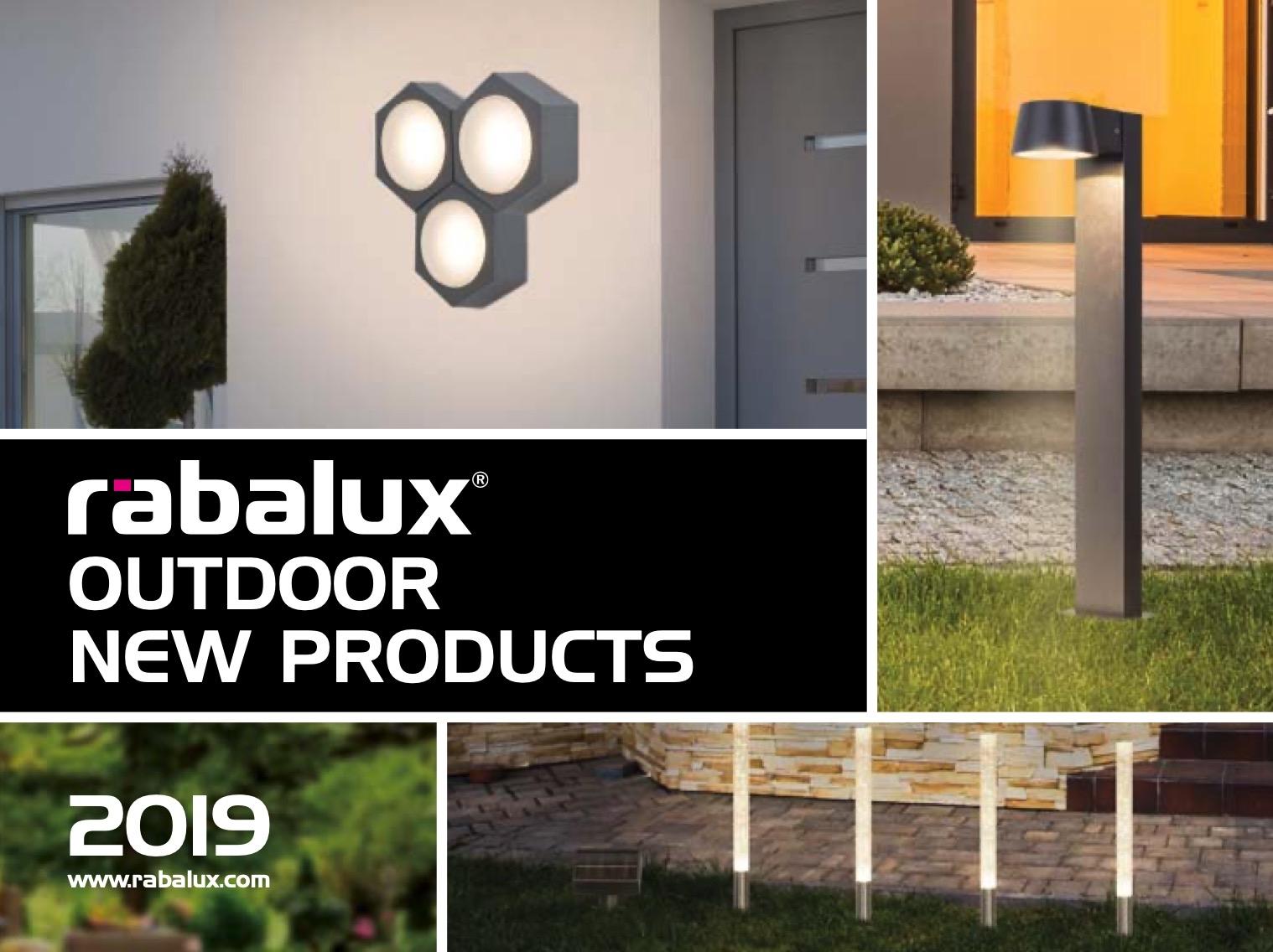 RABALUX Outdoor lighting broshure 2019