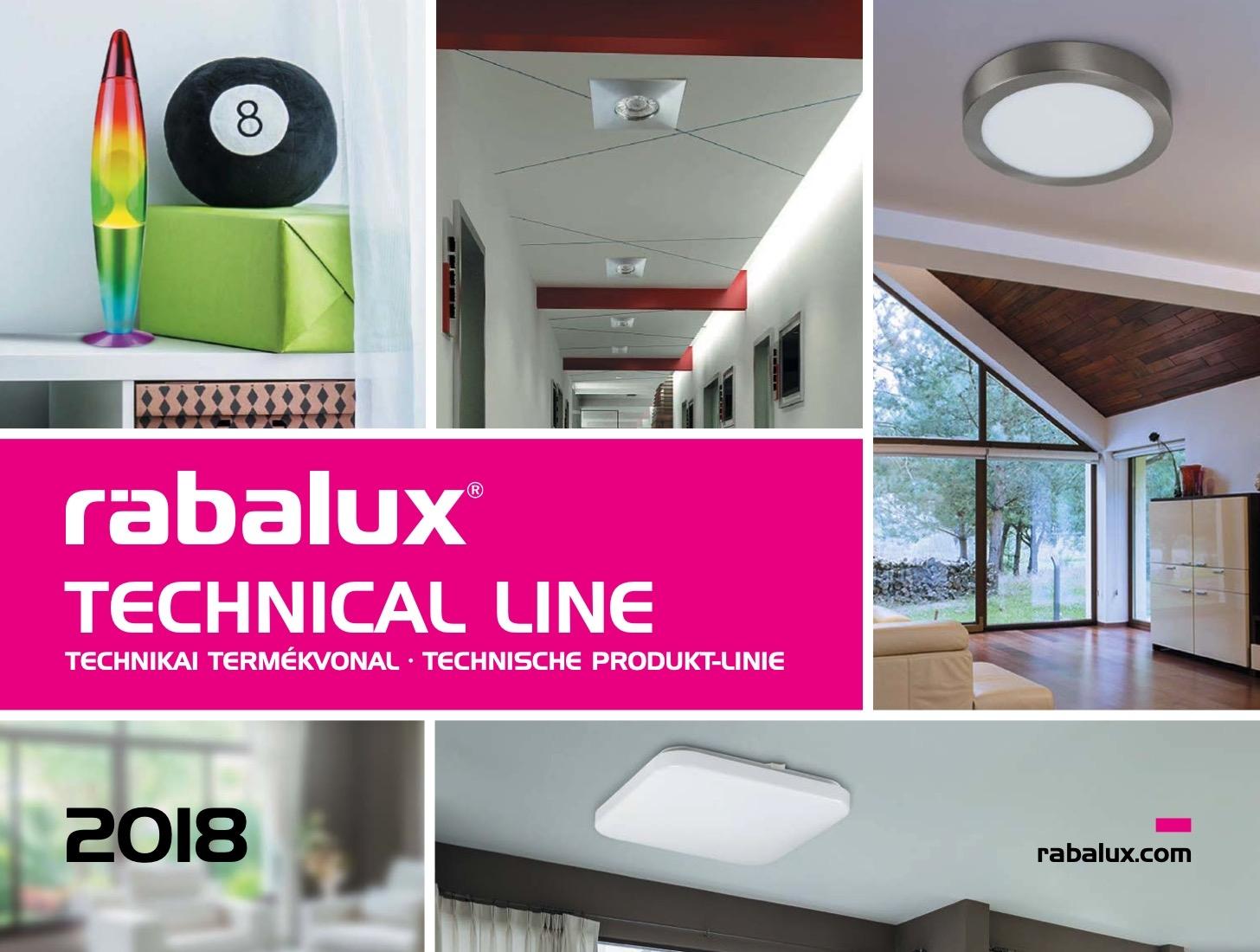RABALUX Technical broshure 2018