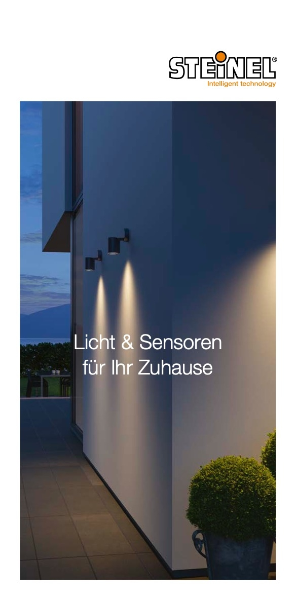 STEINEL Luči in Senzorji