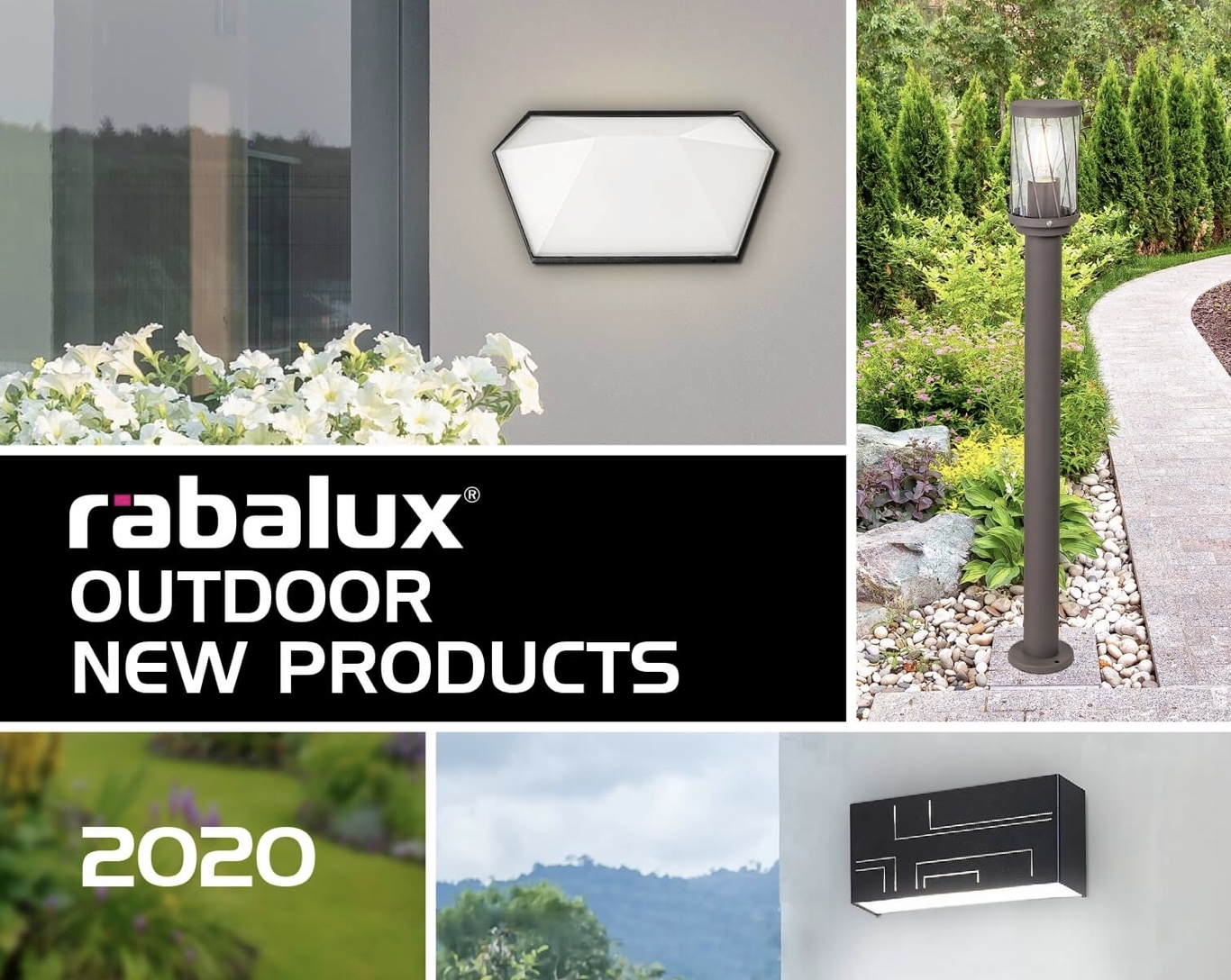 RABALUX Outdoor 2020